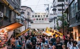 El hacer compras en Osaka Imagen de archivo libre de regalías