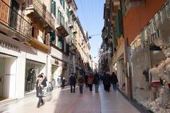 El hacer compras en Roma Imagen de archivo