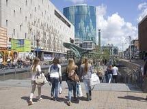 El hacer compras en Rotterdam Foto de archivo libre de regalías