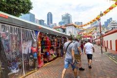 El hacer compras en Singapur Chinatown Fotos de archivo