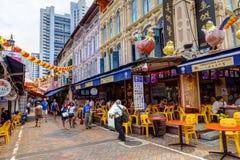 El hacer compras en Singapur Chinatown Imagenes de archivo