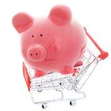 El hacer compras excepto Imagen de archivo