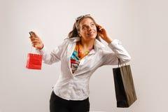 El hacer compras ido Imágenes de archivo libres de regalías