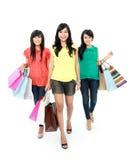El hacer compras junto Imagen de archivo