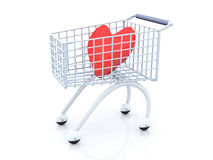 El hacer compras para el amor Imagen de archivo