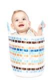 El hacer compras para el concepto del bebé Foto de archivo libre de regalías