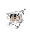 El hacer compras para un hogar Fotografía de archivo
