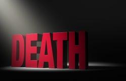 El hacer frente hasta muerte Foto de archivo