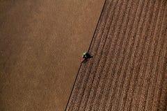 El hacer punto agrícola Fotografía de archivo