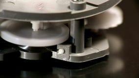 El hacer tictac mecánico del contador de tiempo almacen de metraje de vídeo