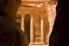 El Hacienda en el Petra Fotos de archivo libres de regalías