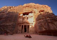 El Hacienda, Petra Foto de archivo libre de regalías