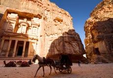 El Hacienda, Petra Fotos de archivo