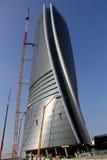 El Hadid Tover bajo construcción en Citylife; Milán Foto de archivo