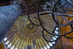 El Hagia Sofía en Estambul, Turquía foto de archivo