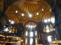 El Hagia Sophia de Estambul, Turquía 30 de marzo de 2018: C hermosa foto de archivo