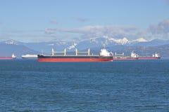 El halcón de oro del carguero de graneles Fotografía de archivo