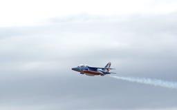El halcón de Patrouille de Francia Imagen de archivo libre de regalías