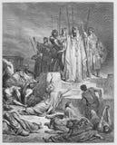 El hambre en Samaria imagen de archivo