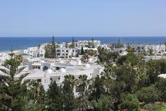 el haouaria dnia miłe Tunisia sunny widok Obrazy Stock