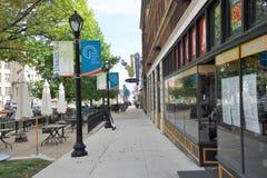El Harold y el Dorthy Steward Center para el jazz en los artes distrito, St. Louis, Missouri foto de archivo