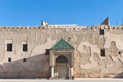 El Hedim square at Meknes, Morocco Royalty Free Stock Photos