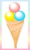 El helado libre illustration