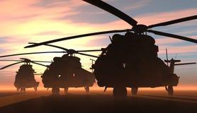 El helicóptero libre illustration