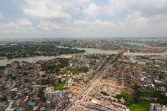 El helicóptero tirado de Dacca, Bangladesh foto de archivo