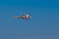El helicóptero W-3WA del presidente polaco Imagen de archivo