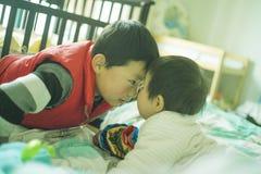 El hermano chino Foto de archivo libre de regalías