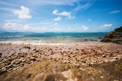 El hermoso de un mar tropical foto de archivo