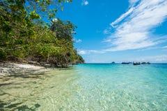 El hermoso del mar de Andaman, Tailandia Imágenes de archivo libres de regalías