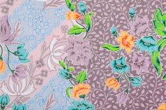 El hermoso del modelo del batik del arte Foto de archivo