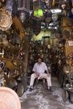 El herrero en El Cairo imágenes de archivo libres de regalías