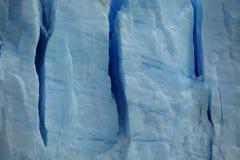 El hielo azul eterno fotografía de archivo libre de regalías