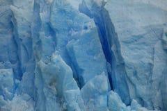 El hielo azul eterno fotografía de archivo