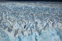 El hielo azul eterno foto de archivo libre de regalías