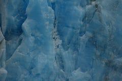 El hielo azul eterno foto de archivo