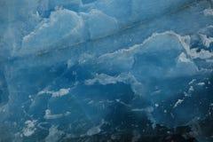 El hielo azul eterno imagen de archivo