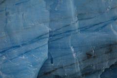 El hielo azul eterno fotos de archivo