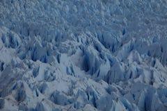 El hielo azul eterno imagenes de archivo