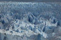 El hielo azul eterno imagen de archivo libre de regalías