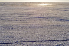 El hielo en el lago Pskovskoe. Imágenes de archivo libres de regalías