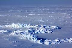El hielo en el Polo Norte mira en 2016 exactamente Foto de archivo libre de regalías