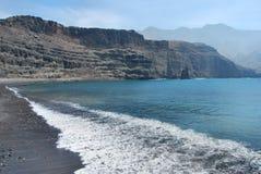 El Hierro. Coastline of El Hierro, Canary Islands, Spain stock images