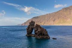 El Hierro. Stone in El Hierro.Canary Islands Royalty Free Stock Image