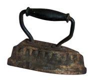 El hierro antiguo real imagen de archivo libre de regalías