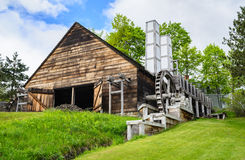 El hierro de Saugus trabaja el sitio histórico nacional Fotos de archivo libres de regalías