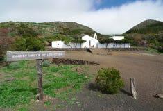 EL Hierro - Ermita Virgen de Los Reyes Fotos de archivo libres de regalías